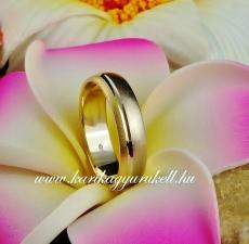 B-077 Arany karikagyűrű, jegygyűrű