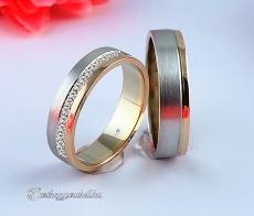 LK-382 Arany karikagyűrű, jegygyűrű