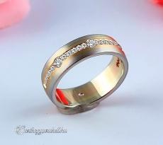 LK-383 Arany karikagyűrű, jegygyűrű