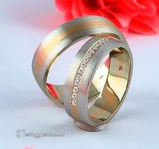 LK-384 Arany karikagyűrű, jegygyűrű
