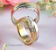 LK-387 Arany karikagyűrű, jegygyűrű