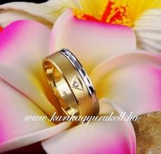 B-081 Arany karikagyűrű, jegygyűrű