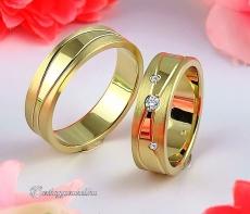 LK-392 Arany karikagyűrű, jegygyűrű