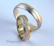 LK-394 Arany karikagyűrű, jegygyűrű