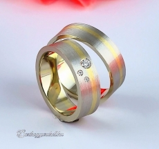 LK-395 Arany karikagyűrű, jegygyűrű