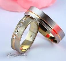 LK-396 Arany karikagyűrű, jegygyűrű