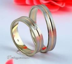 LK-398 Arany karikagyűrű, jegygyűrű