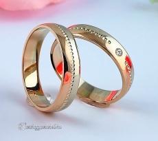 LK-405 Arany karikagyűrű, jegygyűrű