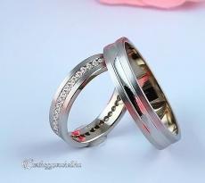 LK-408 Arany karikagyűrű, jegygyűrű