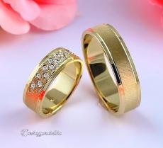 LK-409 Arany karikagyűrű, jegygyűrű