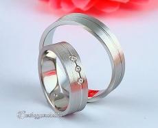 LK-411 Arany karikagyűrű, jegygyűrű