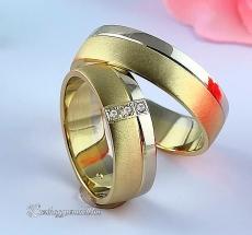 LK-412 Arany karikagyűrű, jegygyűrű