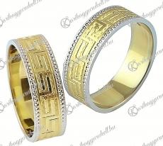 LK-414 Arany karikagyűrű, jegygyűrű