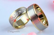 LK-415 Arany karikagyűrű, jegygyűrű