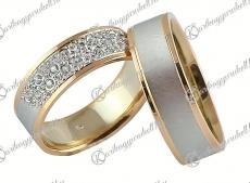 LK-416 Arany karikagyűrű, jegygyűrű