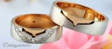 LK-420 Arany karikagyűrű, jegygyűrű
