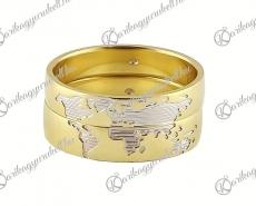 LK-421 Arany karikagyűrű, jegygyűrű