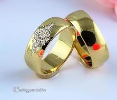 LK-422 Arany karikagyűrű, jegygyűrű