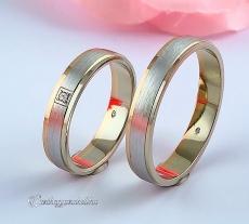 LK-423 Arany karikagyűrű, jegygyűrű