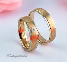 LK-426 Arany karikagyűrű, jegygyűrű