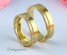 LK-429 Arany karikagyűrű, jegygyűrű