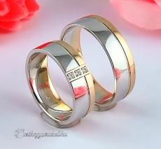 LK-430 Arany karikagyűrű, jegygyűrű