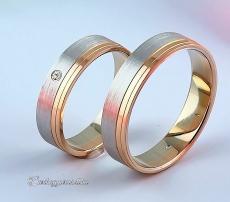 LK-431 Arany karikagyűrű, jegygyűrű