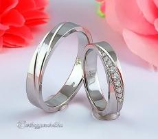 LK-434 Arany karikagyűrű, jegygyűrű