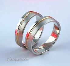 LK-435 Arany karikagyűrű, jegygyűrű