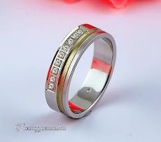 LK-436 Arany karikagyűrű, jegygyűrű