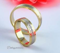 LK-437 Arany karikagyűrű, jegygyűrű
