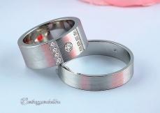LK-438 Arany karikagyűrű, jegygyűrű
