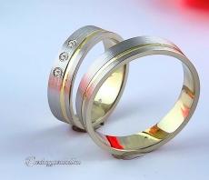 LK-442 Arany karikagyűrű, jegygyűrű