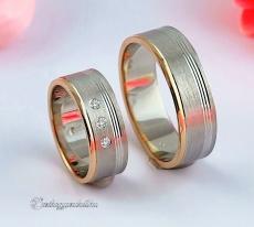 LK-445 Arany karikagyűrű, jegygyűrű