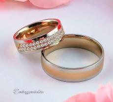 LK-446 Arany karikagyűrű, jegygyűrű