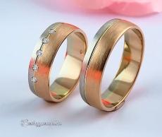 LK-447 Arany karikagyűrű, jegygyűrű