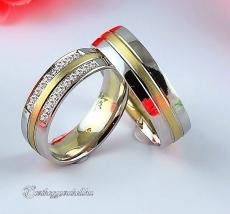 LK-448 Arany karikagyűrű, jegygyűrű
