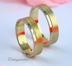 LK-449 Arany karikagyűrű, jegygyűrű