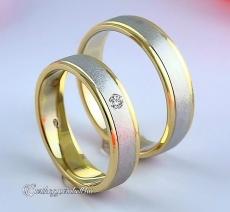 LK-452 Arany karikagyűrű, jegygyűrű