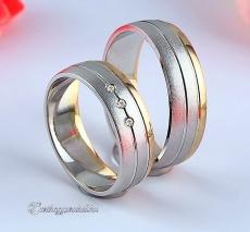 LK-454 Arany karikagyűrű, jegygyűrű