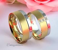LK-455 Arany karikagyűrű, jegygyűrű