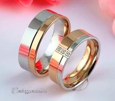 LK-456 Arany karikagyűrű, jegygyűrű