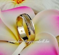 B-092 Arany karikagyűrű, jegygyűrű