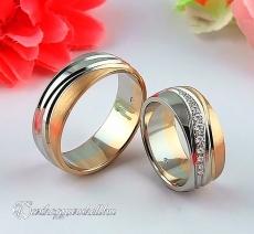 LK-457 Arany karikagyűrű, jegygyűrű