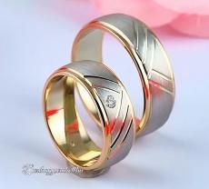 LK-459 Arany karikagyűrű, jegygyűrű