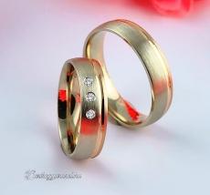 LK-460 Arany karikagyűrű, jegygyűrű