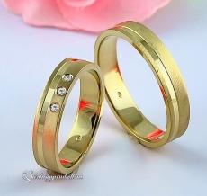 LK-464 Arany karikagyűrű, jegygyűrű