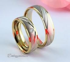 LK-468 Arany karikagyűrű, jegygyűrű