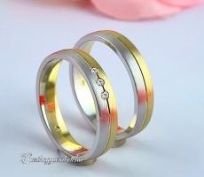 LK-469 Arany karikagyűrű, jegygyűrű