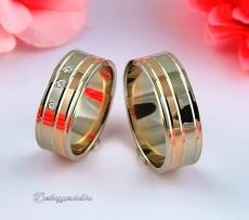 LK-470 Arany karikagyűrű, jegygyűrű